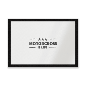 Motocross Is Life Entrance Mat