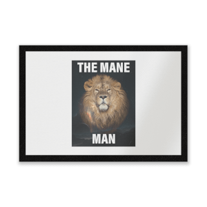 The Mane Man Entrance Mat