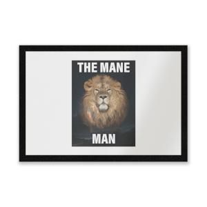 The Mane Man Entrance Mat