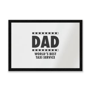 Dad Taxi Service Entrance Mat