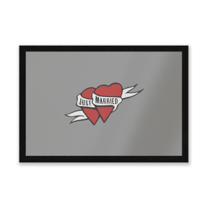 Just Married Entrance Mat