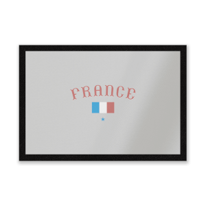 France Entrance Mat