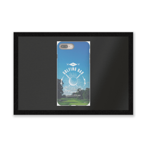 Golf Dad Phone Case Entrance Mat