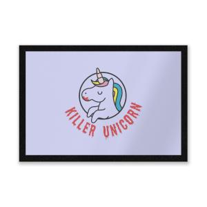 Killer Unicorn Entrance Mat