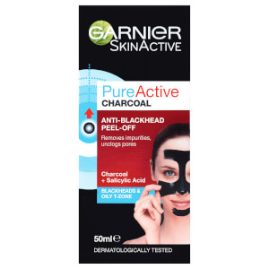 Garnier Pure Active Charcoal Anti-Blackhhead Peel Off Mask 50ml