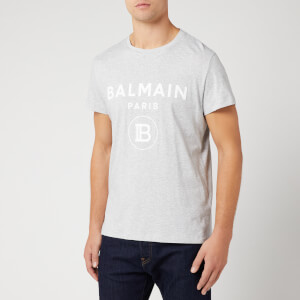 Balmain Men's T-Shirt - Blanc/Multico
