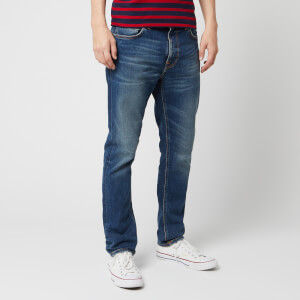 Nudie Jeans Men's Lean Dean Straight Jeans - Indigo Shades