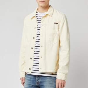 Nudie Jeans Men's Ronny Cord Jacket - Dusty White