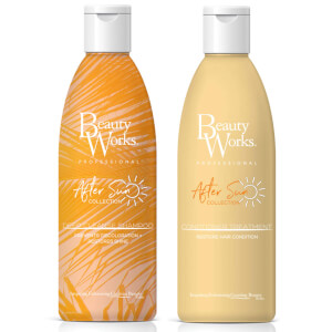 Beauty Works After Sun Discoloration and Restore Shine Duo (Worth $33)
