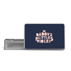 Daddy's Little Princes Metal Storage Tin