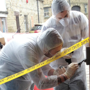 Crime Scene Investigation Experience Day for Two