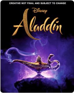 Aladdin 3D (Inkl. 2D Blu-Ray) - Zavvi Exklusives Steelbook