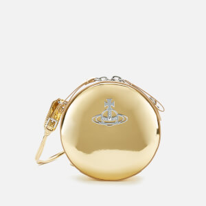 Vivienne Westwood Women's Johanna Round Cross Body Bag - Gold