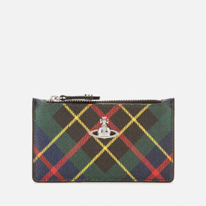 Vivienne Westwood Women's Derby Slim Long Card Holder - Hunting Tartan