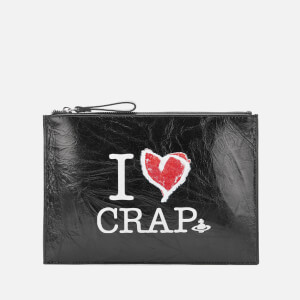Vivienne Westwood Women's I Love Crap Pouch - Black