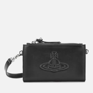 Vivienne Westwood Women's Anna Phone Wallet Bumbag - Black