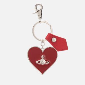 Vivienne Westwood Women's Gadget Mirror Heart Keyring - Red