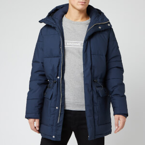 Edwin Men's Street Parka Jacket - Dress Blue