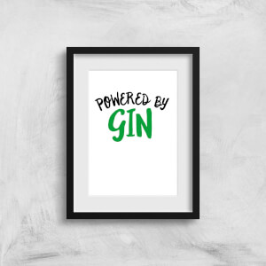 Powered By Gin Art Print