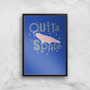 Outta Space Art Print