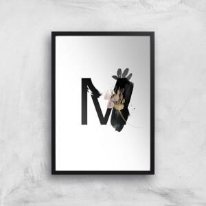 M Art Print
