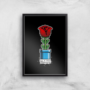 Say It With Flowers Art Print