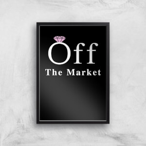 Off The Market Art Print