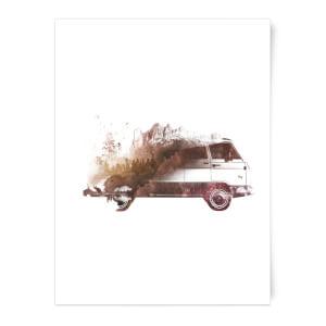 Drive Me Home Art Print