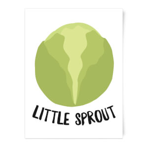 Little Sprout Art Print