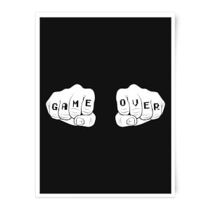 Game Over Art Print