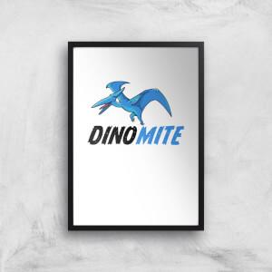 Dino Mite Art Print