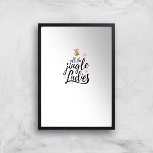 All The Jingle Ladies Art Print
