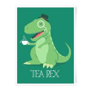 TeaRex Art Print
