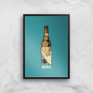 Beer'd Art Print