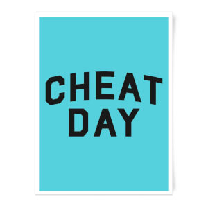 Cheat Day Art Print