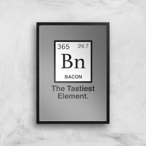 Bacon Element Art Print