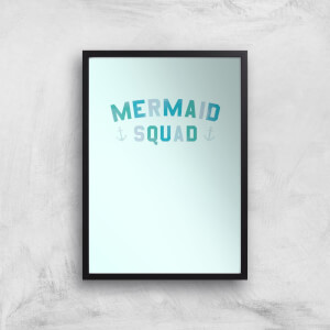 Mermaid Squad Art Print