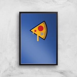 Pizza Slice Art Print