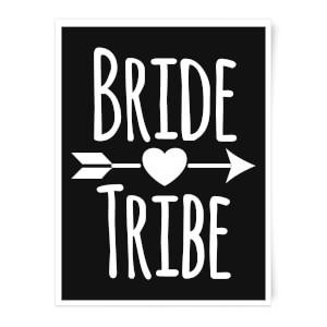Bride Tribe Art Print