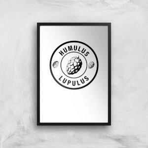 Humulus Lupulus Art Print