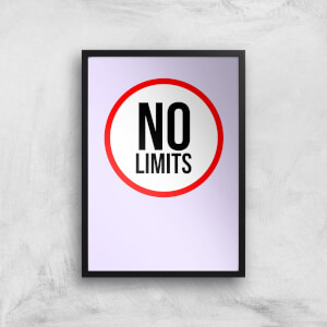 No Limits Art Print