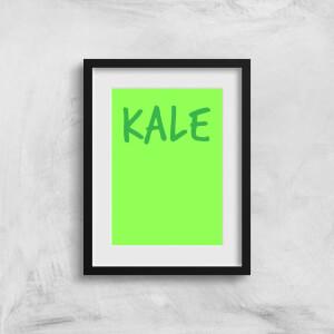 Kale Art Print