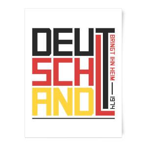 Deutschland Art Print