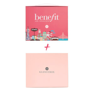 GLOSSYBOX Beauty Box 6-Monats-Abo + benefit Special Edition