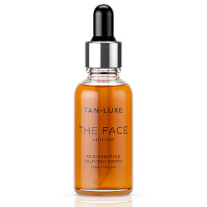 Tan-Luxe The Face Anti-Age Rejuvenating Self-Tan Drops 30ml - Light/Medium