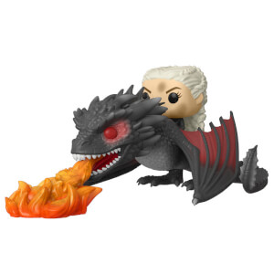 Game of Thrones Daenerys with Drogon (flames) Pop! Ride