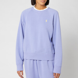 Polo Ralph Lauren Women's Raglan Sweatshirt - East Blue