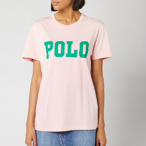 Polo Ralph Lauren Women's Big Polo Short Sleeve T-Shirt - Pink Sand