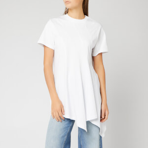 JW Anderson Women's Panelled Handkerchief T-Shirt - White