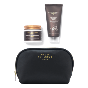 Grow Gorgeous Mini Intense Shampoo, Mask and Bag